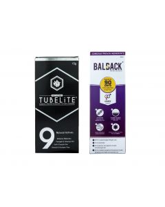 TUBELiTE Combo For Skin & Hair Solution (Skin Lightening Cream 15g and Hair Growth and Revitalizing Serum 60ml)