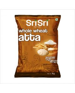 Sri Sri Tattva Whole Wheat Atta - 1kg