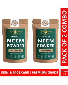 Ayur Blessing Neem Powder Skin Care Products Combo, Face Pack, Skin Care (100 Gram * 2)