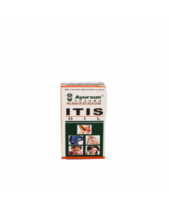 Ayurvedic Pain Reliver Itis Oil - 60 ml