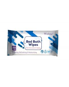 Wiclenz Bed Bath Wipes - Set of 10 Wipes - Pack of 3