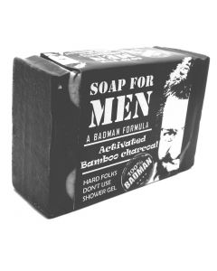 Pratha Naturals Men's Exclusive: Activated Bamboo Charcoal Soap 100 gm