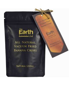 The Earth Reserve All Natural Vacuum Fried  Banana Crisps - 50 gm