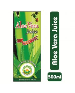 Basic Ayurveda Aloe Vera Juice(Sugar Free) 500ml