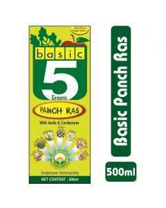 Basic Ayurveda Basic 5 Green Panch Ras 500ml
