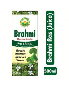 Basic Ayurveda Brahmi Ras (Juice)Memory Booster 500ml