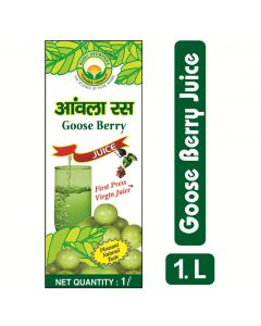 Basic Ayurveda Goose Berry Juice(Amla Ras) 1000ml