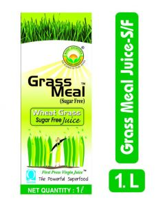 Basic Ayurveda Grass Meal (Wheat Grass) Juice Sugar Free 1000ml