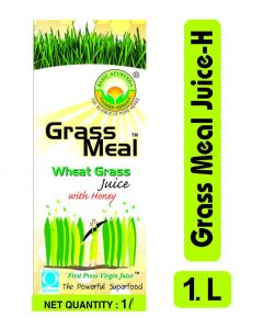 Basic Ayurveda Grass Meal (Wheat Grass) Juice With Honey 1000ml