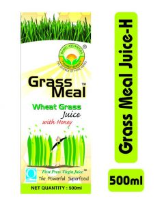 Basic Ayurveda Grass Meal (Wheat Grass) Juice With Honey 500ml