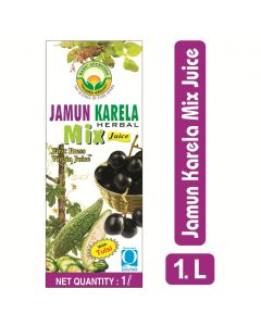 Basic Ayurveda Jamun Karela Herbal Mix Juice 1000ml