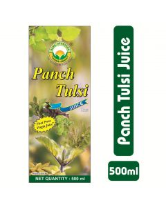 Basic Ayurveda Panch Tulsi Juice (Ras) 500ml