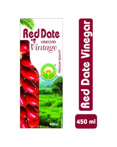Basic Ayurveda Red Date Vinegar (Vintage) 450ml