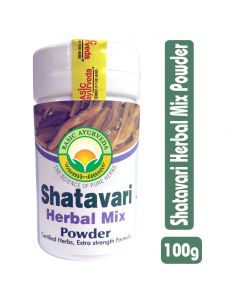 Basic Ayurveda Shatavari Herbal Mix Powder 100g