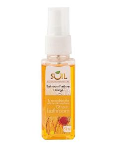 Soil Natural Fragrances Bathroom Freshener - Orange 50ml