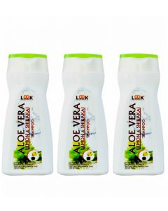 Look 18 Aloevera And Lemon Shikakai Shampoo 200ml (Pack of 3)