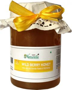 Farm Naturelle (Farm Natural Produce) Unprocessed Wild Berry (Sidr) Forest Flower Honey - 815 Grams