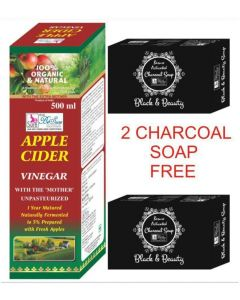 BeSure Apple Cider Vinegar-filtered Syrup 500 ml- 2 Charcoal Soap Free