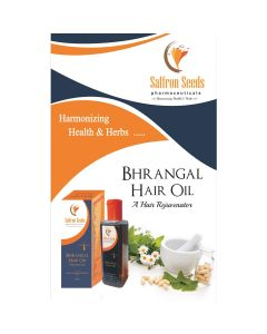 Saffron Seed Pharmaceuticals Bhrangal Hair Oil (100 ml)