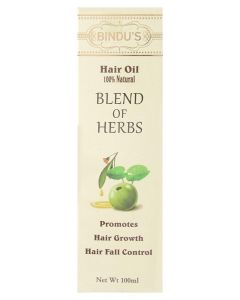 Bindu's Blend of Herbs Hair Oil 100 ml
