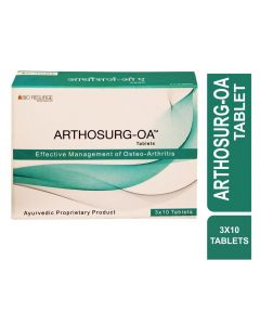 Bio Resurge Arthosurg-OA For Effective Management of Osteo-Arthritis (3 Strips X 10 Tablets)
