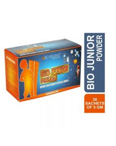 Bio Junior Protein Powder To Improves Child Memory & Physical Growth (5 gm X 30 Sachets)