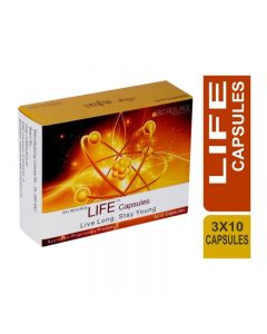 Bio Resurge Life Capsule For Immunity Booster And Anti Ageing (3 Strips X 10 Tablets)