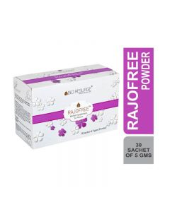 Bio Resurge Rajofree Herbal Powder For Managing Pre And Post Menopausal In Women (5 gm X 30 Sachets)