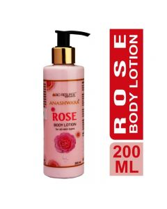 Bio Resurge Anashwara Rose Body Lotion Cooling Soothing Moisturizing Body Lotion 200ml