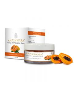 Bio Resurge Anashwara Papaya Skin Nourishing Cream For Exfoliating And Anti-Aging 50gm