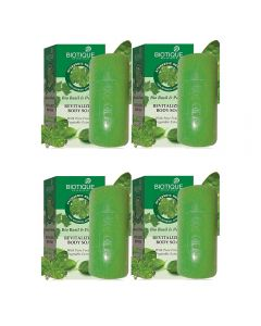 Biotique Basil And Parsley Soap (150gm x 4)