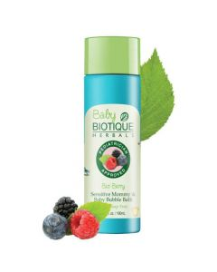 Biotique Berry Sensitive Mommy and Baby Bubble Bath - 190 ml