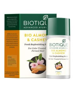 Biotique Bio Almond And Cashew Fresh Replenishing Serum - 40ml