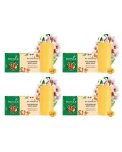 Biotique Bio Almond Oil Nourishing Body Soap - 150g (Pack of 4)