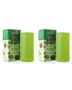 Biotique Bio Basil And Parsley Revitalizing Body Soap 150g (Pack of 2)