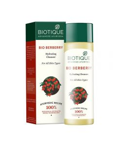 Biotique Bio Berberry Hydrating Cleanser - 120ml For All Skin Types
