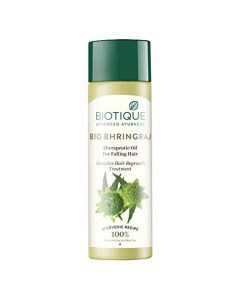 Biotique Bio Bhringraj Fresh Growth Therapeutic Oil - 120ml
