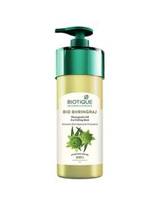 Biotique Bio Bhringraj Therapeutic Oil For Falling Hair Intensive Hair Regrowth Treatment - 800ml