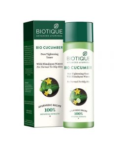 Biotique Bio Cucumber Pore Tightning Toner - 120ml