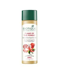 Biotique Bio Flame of The forest Fresh Shine Expertise Oil - 120ml