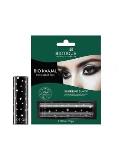 Biotique Bio Kajal Nourishing and Conditioning Eye Kaajal with Almond Oil - 3gm