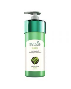 Biotique Bio Neem Anti Dandruff Shampoo and Conditioner - 800ml