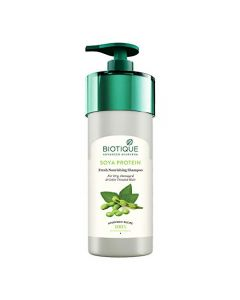 Biotique Bio Soya Protein Fresh Nourishing Shampoo For Dry Damaged & Color Hair - 800ml