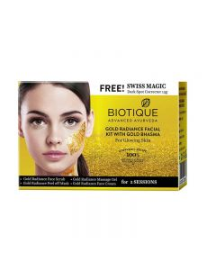 Biotique Gold Radiance Facial Kit with Gold Bhasma - 75g