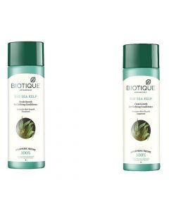 Biotique Sea Kelp Fresh Growth Revitalizing Conditioner - 120ml (Pack of 2)