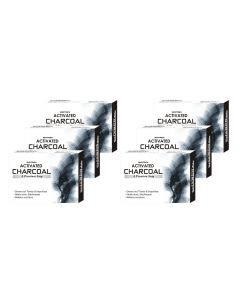 Biotrex Activated Charcoal - A Premium Soap, 75gm - Pack of 6