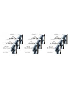 Biotrex Activated Charcoal - A Premium Soap, 75gm - Pack of 9