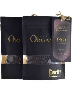 The Earth Reserve Organic Black Pepper (Pack of 2) - 70gm