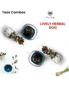 Seer Secrets Blue Pea Tisane Flower Tea Combo