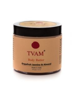 Tvam Body Butter-Grapefruit Jasmine & Almond - 100gms